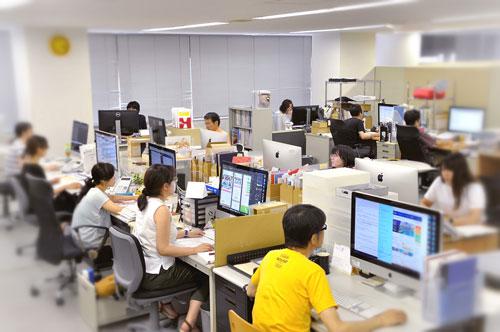 製造業ホームページ構築サービス